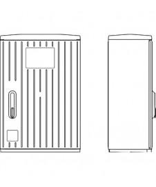 Traductor de aer pentru masurarea presiunii Modbus PREMASGARD 1210