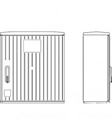 Unitate de interior pentru control umiditate si temperatura RFTF-Modbus-xx