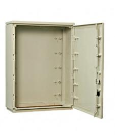 Dulap distrib. încastr. 2 rânduri, 36UH, uşă transp BK080006