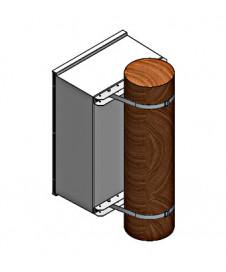Separator mărime 2, 400 A, 3 poli, M10, pt. contrapanou,SI332020