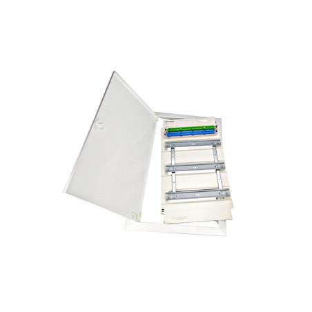 Priză cu protecţie mărită, 16A, cleme cu şurub, alb, ET101001