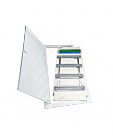 Corp de iluminat siguranţă aparent 2851 8W 3h/NM IP65, LI90000034