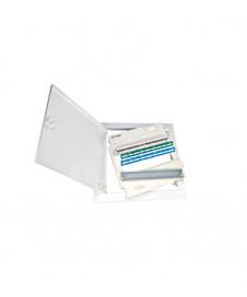 Corp ilum siguranţă DHE 3x1W autonom 1h,3h,8h încastrat,  NLDHE023SC