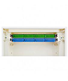 Plafonieră GL 104 E27, pătrat, gips alb, max. 15W, LI148002