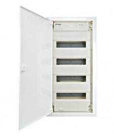 Aplică GL 100 SLOT, pătrat, gips alb, E14, max. 40W, LI148010